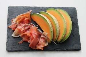 Parmaschinken mit Melone - Pixabay