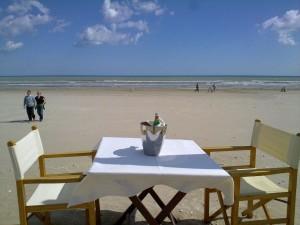 Strandabschnitt in Cervia