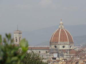 Sicht von der Piazzale Michelangelo