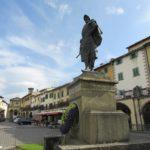 Statue des Seefahrers und Entdeckers Giovanni da Verrazano